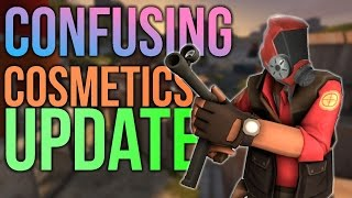 TF2 - New Cosmetics Update | New And Confusing Cosmetic Changes (2016)