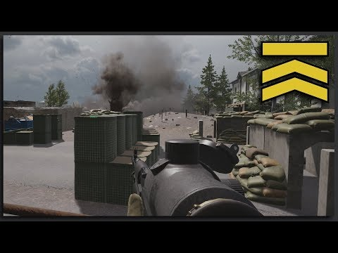 SUPERFOB UNDER EPIC MORTAR ARTILLERY FIRE - Tactical Squad Gameplay SUPERFOB Squad Leader Full Match