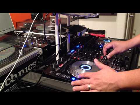 121 to 85 Bpm transition mix pitch n time activated serato dj