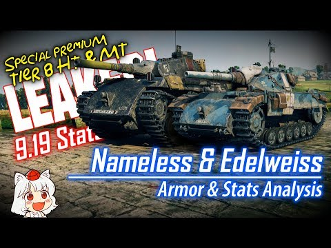 If You're Anime-curious - Nameless & Edelweiss Stats