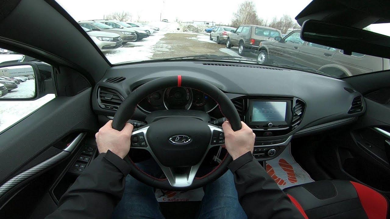 2019 LADA VESTA SPORT POV TEST DRIVE