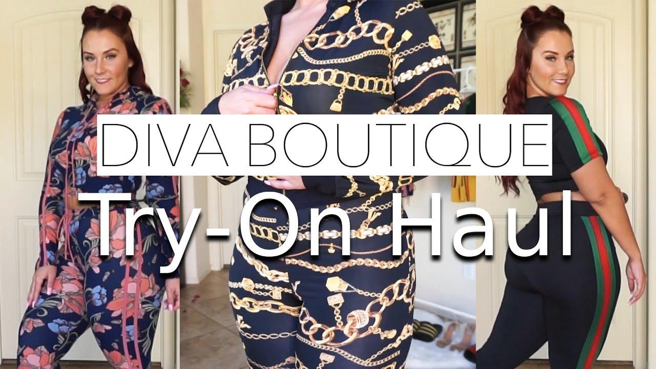 2fde0234af Diva Boutique Matching Set Try-On Haul