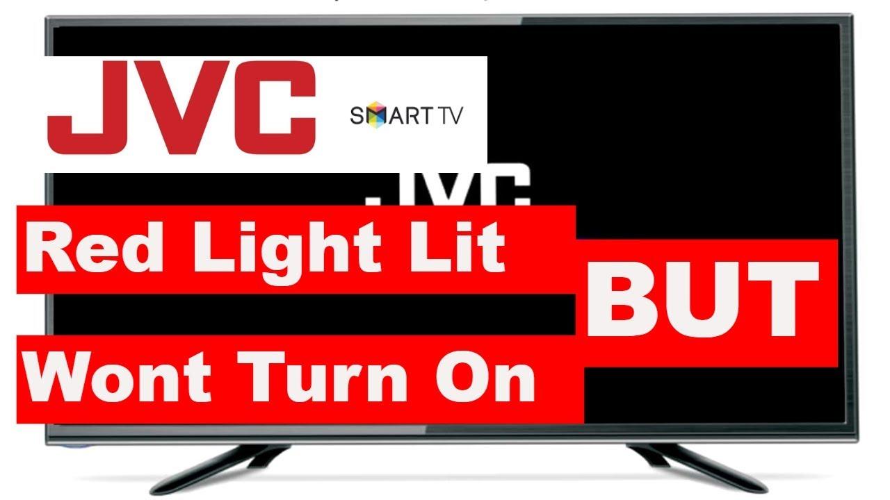 Jvc Tv Not Working Red Light Lit But Wont Turn On Jvc Tv Wont Turn On Youtube