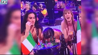 SKANDAL na Eurosongu! Talijanski predstavnik šmrkao!