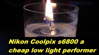 nikon Coolpix s6800 good low light performance - A  69.99 pocket camera