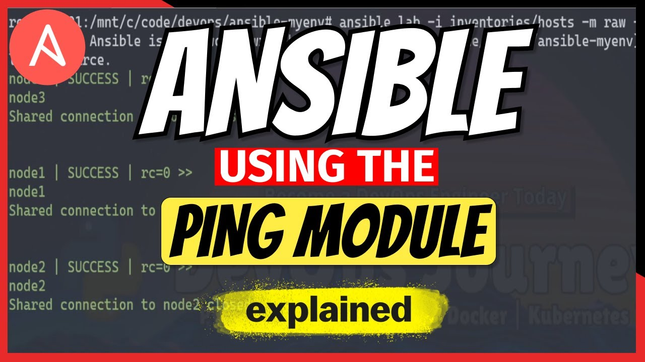 Ansible Top Modules: Ping Tests with Ansible! Test Remote Hosts.