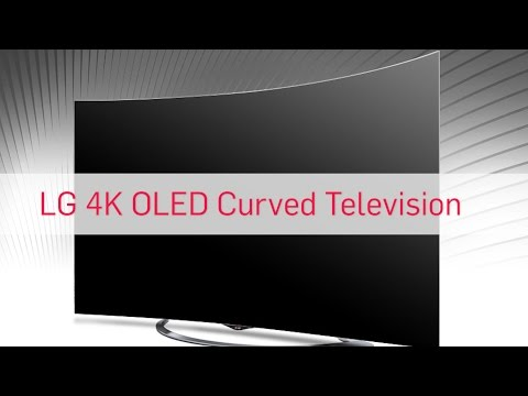 LG 4K OLED Curved Television