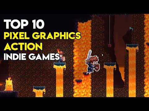 Top 10 Pixel Graphics Action Indie Games - Hidden Gems |