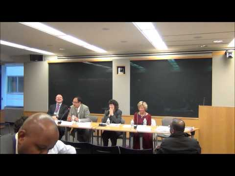 Global Financial Governance & Impact Report 2013 - Panel Discussion