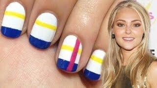 AnnaSophia Robb Seventeen Cover May 2013 Nails