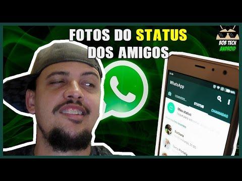 Como baixar as fotos de STATUS de qualquer contato do Whatsapp