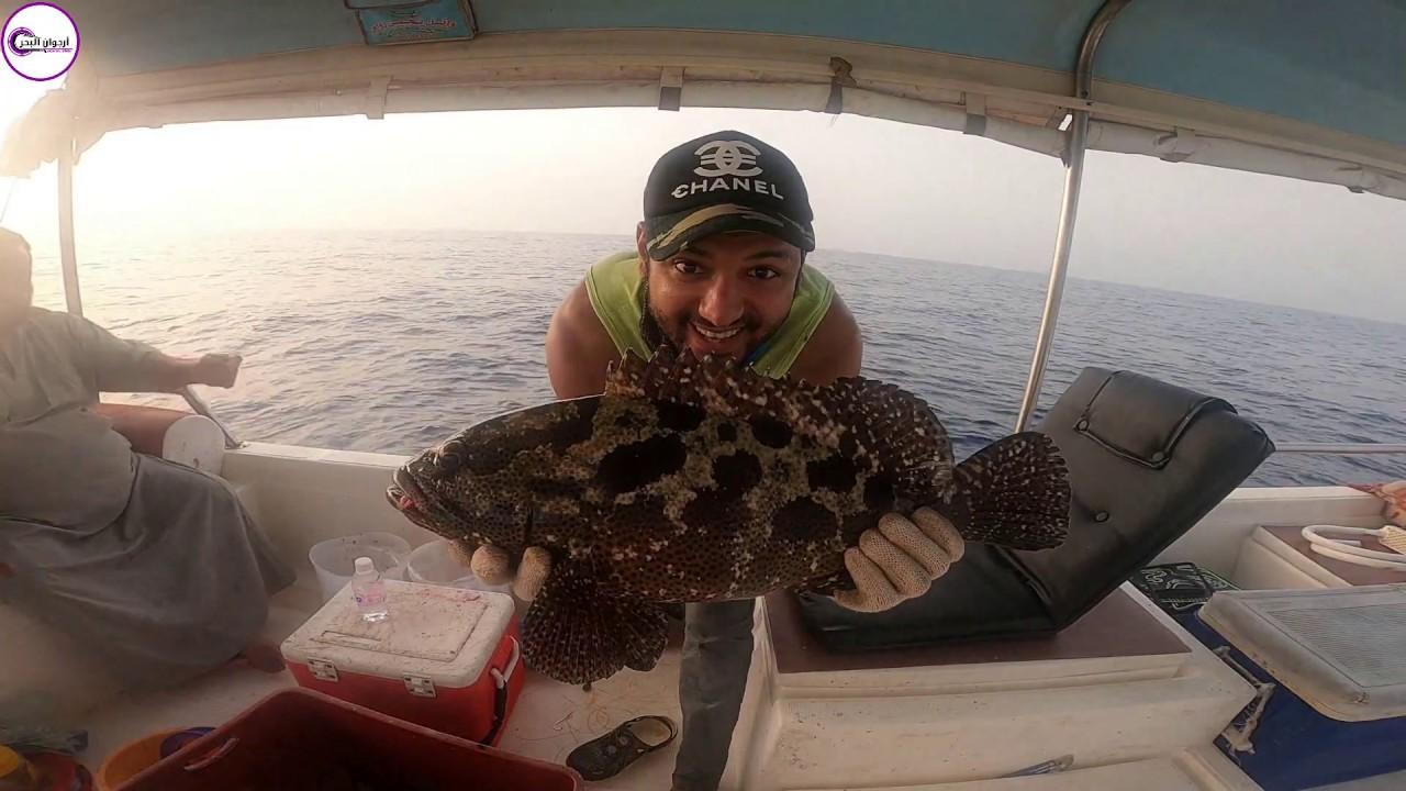 الجزء الثاني رحلة صيد مع أرجوان البحر