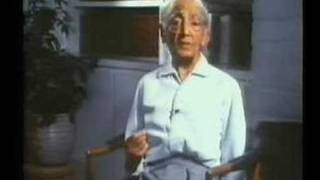 J. Krishnamurti : Why don
