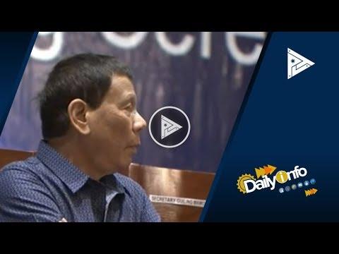 Pres. Duterte, nakiramay sa mga biktima ng bus accident sa Occidental Mindoro