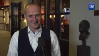 Jorn Versteijnen spreekt over zijn hoofdsponsorschap bij Tilburg Trappers.