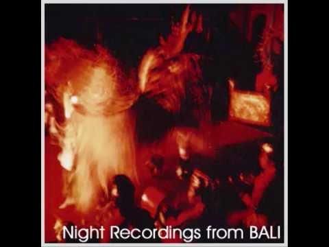 Sublime Frequencies: Night Recordings From Bali