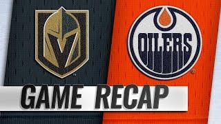 Spooner's goal lifts Oilers past Golden Knights