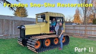 Frandee Sno Shu Model E Snowcat Restoration Part 11