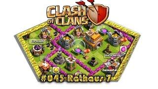 Let's play Clash Of Clans #045 - Rathaus 7 [Deutsch / German][LP iOS IPhone]