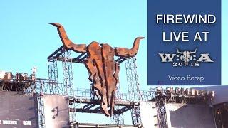FIREWIND - Live at Wacken Open Air 2018 (video recap)
