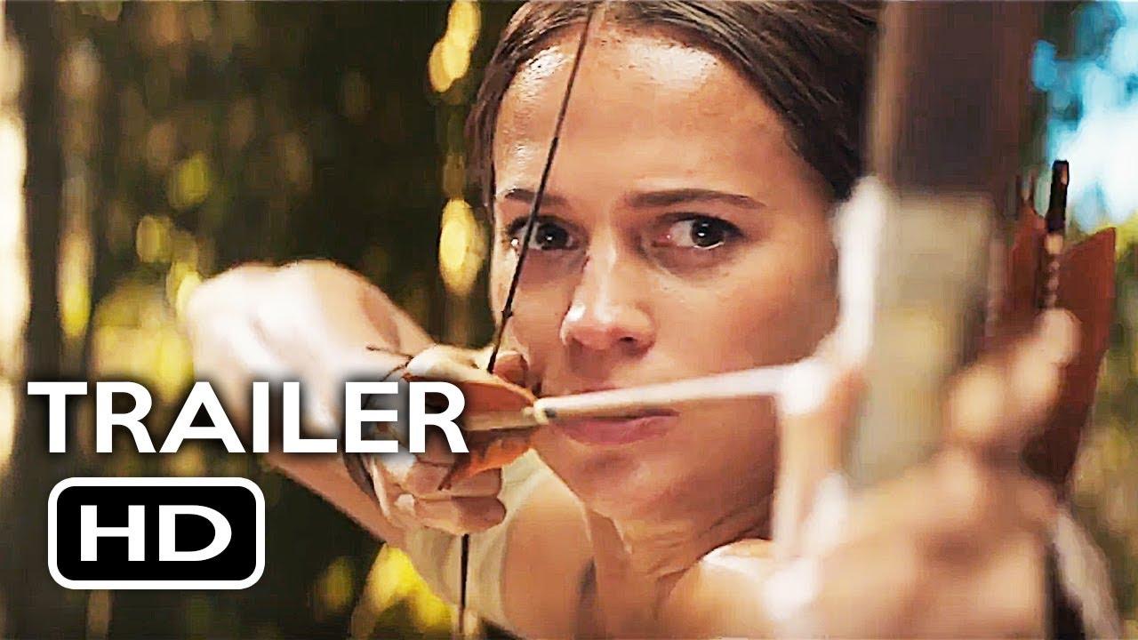 Download Tomb Raider Official Trailer #2 (2018) Alicia Vikander, Walton Goggins Action Movie HD