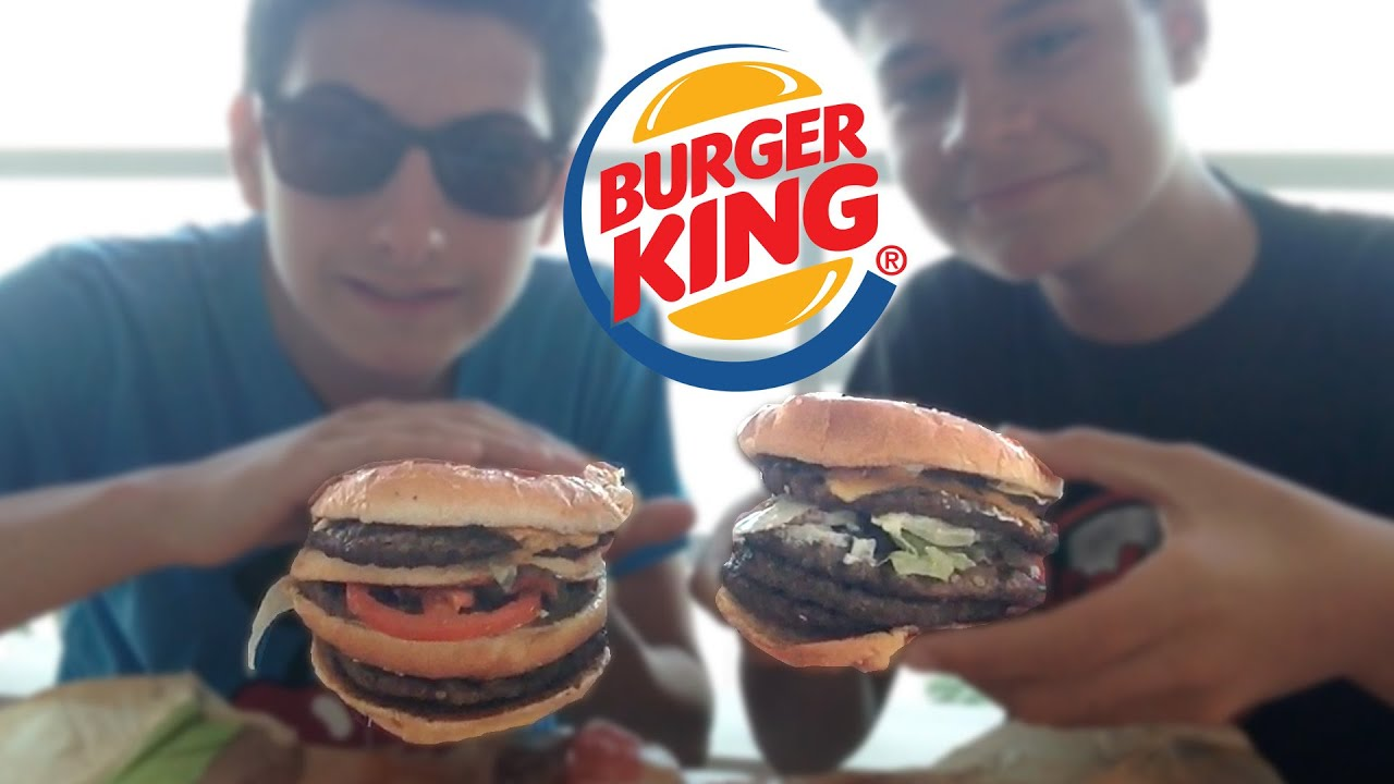 Quintuple Whopper BURGER KING CHA...