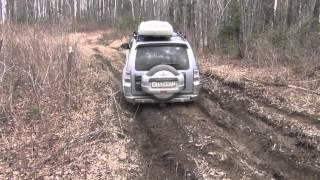 Небольшая грязь Pajero 4 Mitsubishi Small dirt