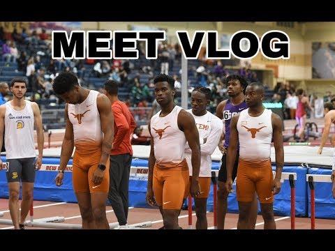 Texas Track & Field | Meet #3 VLOG