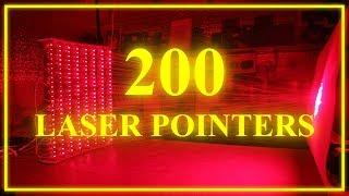 200 laser pointers