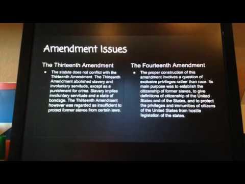 Plessy v. Ferguson presentation