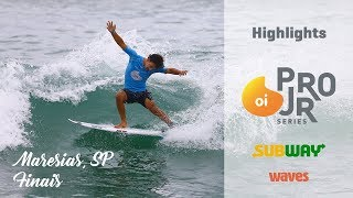 Highlights: Oi Pro Junior Series, Maresias, Finals day