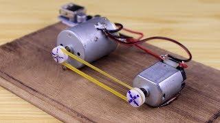 Idées étonnantes avec moteur à courant continu