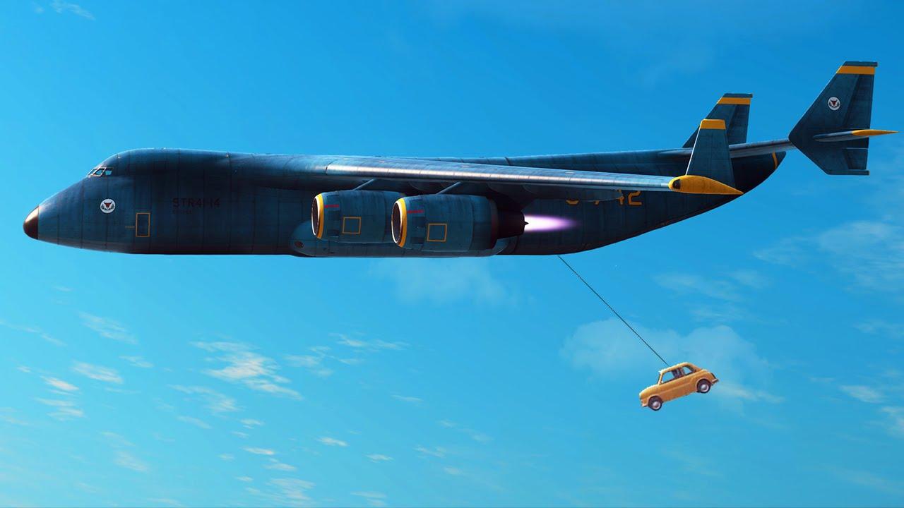 world s hardest stunt ever just cause 3 hit a stunt youtube