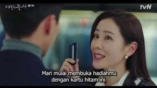 crash landing on you ep 11 sub indo (pria tampan  lagi shopping )