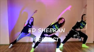 Ed Sheeran - Perfect - Dance Video - Cooldown - Zumba Patrycja Cholewa - Choreography