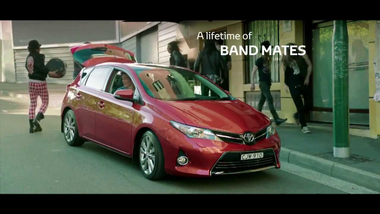 "What Song Is In The Toyota Commercial >> Toyota Corolla ""Good Feeling"" Australian TV ad (2013 ..."