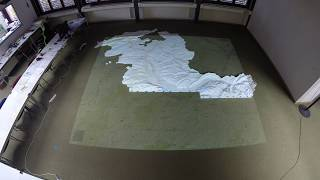 Assembly of the 3D Printed Terrain Map Canton of Bern 1:25'000