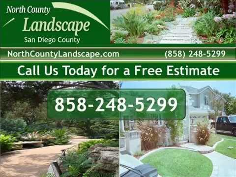 North County San Diego Landscape Design And Landscaping Services (858)  248 5299