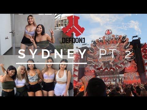 SYDNEY VLOG PT 2 // DEFQON AUSTRALIA 2018