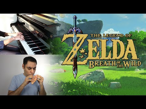The Legend of Zelda: Breath of the Wild - Main Theme (Trailer Music) || Ocarina/Piano Cover