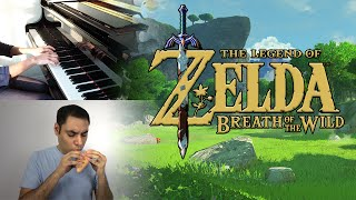 The Legend of Zelda: Breath of the Wild - Main Theme (Trailer Music) || Ocarina/Piano Cover