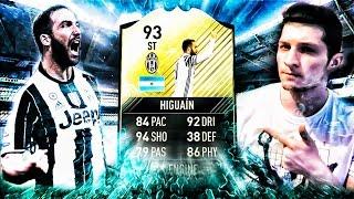 ВСЕ ИЛИ НИЧЕГО | ИГУАИН 93 | FIFA 17