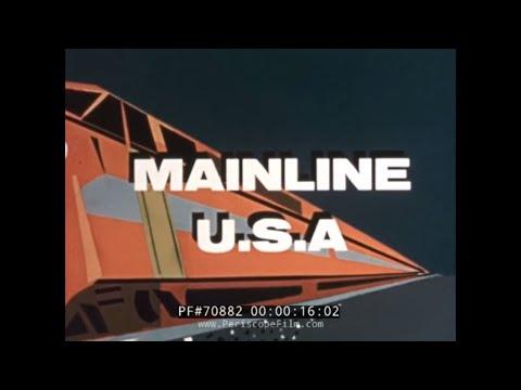 MAINLINE USA VINTAGE RAILROAD MOVIE 70882