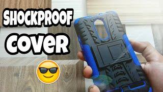 Shockproof cover unboxing For lenovo k6 power