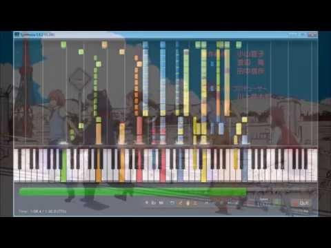 【MIDI】DAYS Of DASH 耳コピ- Sakurasou No Pet Na Kanojo ED1 (Synthesia)