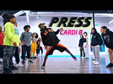 Cardi B - Press | Robert Green Choreography