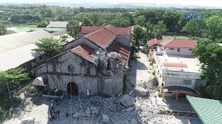 Stand for Truth: The ruins of the Porac Church