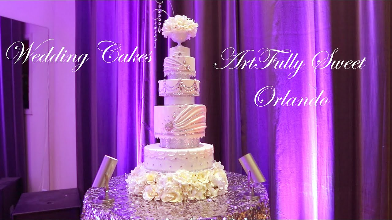 WEDDING CAKES ORLANDO FLORIDA ARTFULLY SWEET