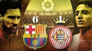 Video Barcelona vs Girona 6-1 All Goals & Highlights La Liga 24/02/2018 download MP3, 3GP, MP4, WEBM, AVI, FLV November 2018