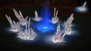 Path of Exile: White Crystal Hideout Decoration